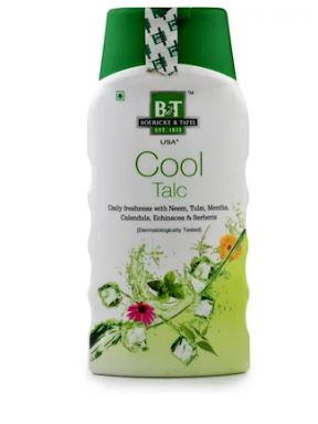 Schwabe B &T Cool Talc with Neem, Tulsi, Mentha, Calendula, Echinacea and Berberis
