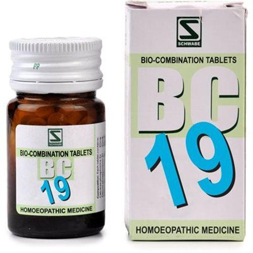 Schwabe Biocombination BC19 Tablets for Rheumatism, Joint Pain of Legs/Arms, Sciatica, Lumbago