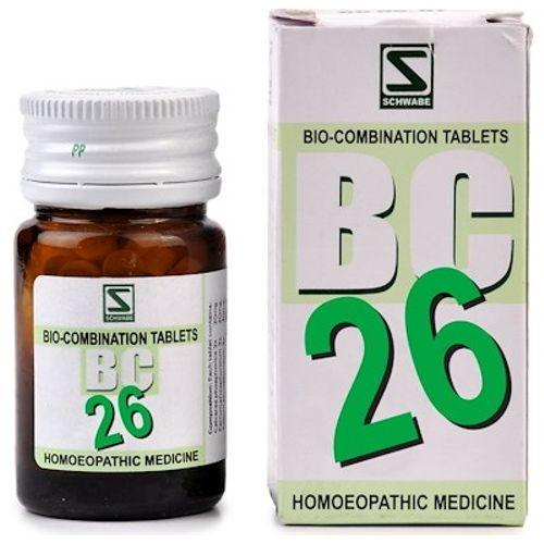 Schwabe Biocombination BC26 Tablets for Easy Parturition (Labour Pain)