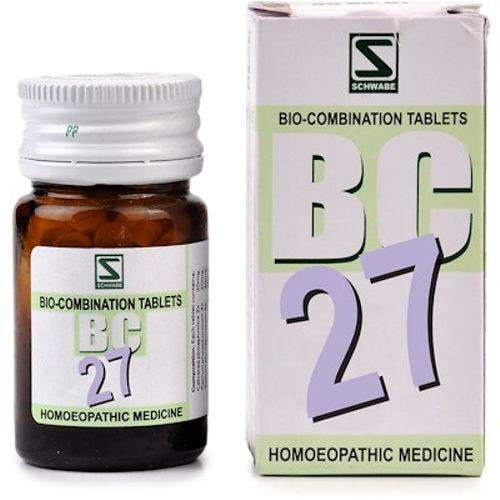 Schwabe Biocombination BC27 Tablets for Lack of Vitality, Debility, Trembling