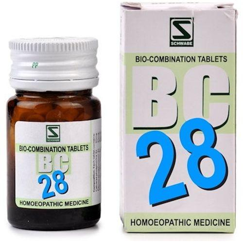 Schwabe Biocombination BC28 Tablets, General Tonic for Health & Wellness