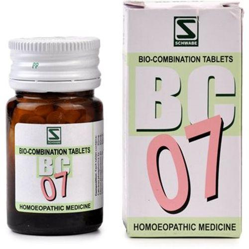 Schwabe Biocombination BC7 Diabetes Tablets for increased Thirst, Urine, Sleeplessness,