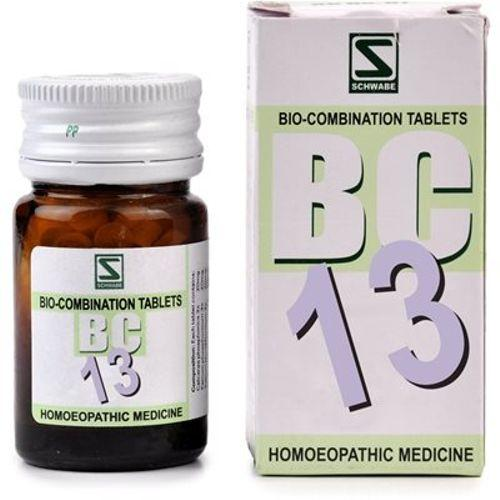 Schwabe Biocombination BC13 Tablets for Leucorrhoea, Vaginal discharge