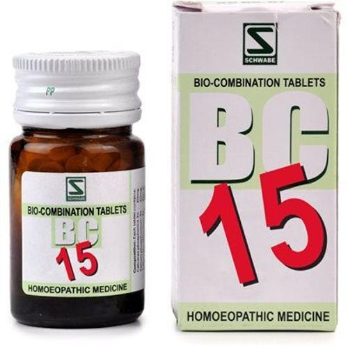 Schwabe Biocombination BC15 Tablets for Menstrual Trouble, Irregular periods