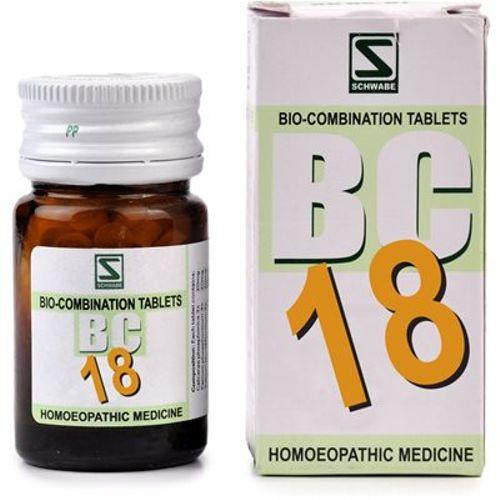 Schwabe Biocombination BC18 Tablets for Pyorrhoea, Bleeding Gums