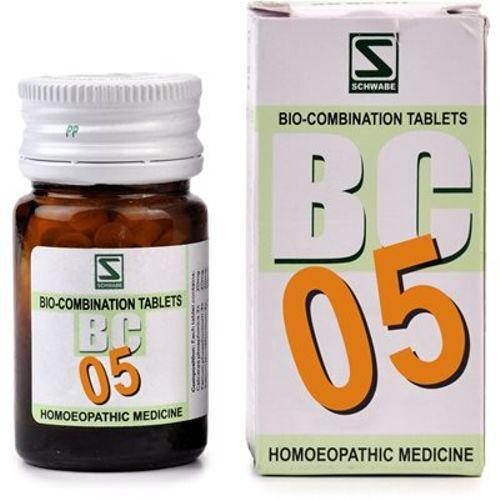 Schwabe Biocombination BC5 Coryza Tablets for Sneezing, White Nasal discharge