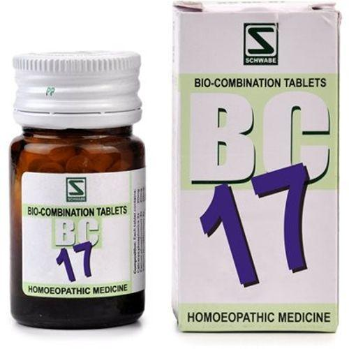 Schwabe Biocombination BC17 Tablets for Piles with Pain & Bleeding, Hemorroidal Knots