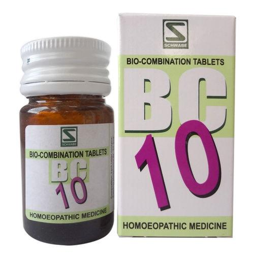 Schwabe Biocombination BC10 Tablets for enlarged Tonsils (Tonsillitis)
