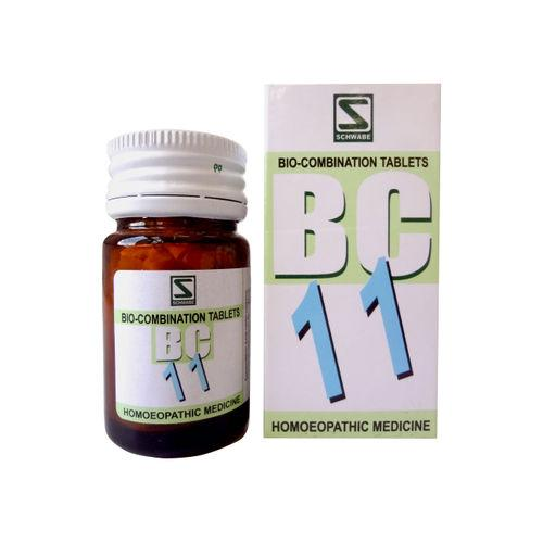 Schwabe Biocombination BC11 Tablets for Fever , natural anti-pyretic