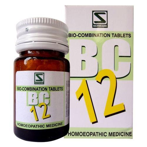 Schwabe Biocombination BC12 Tablets for Headache, Cerebral problems