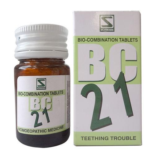 Schwabe Biocombination BC21 Tablets for Teething Trouble(Dentition problems)