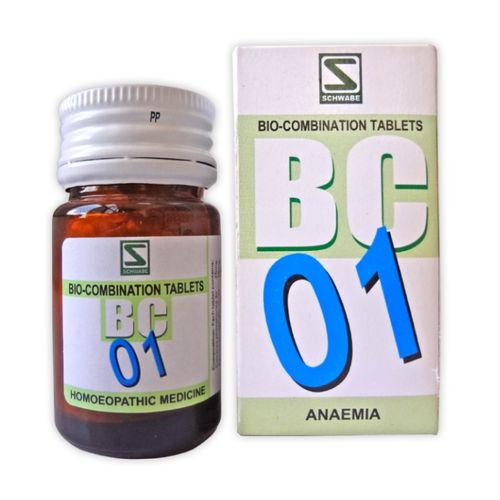 Schwabe Biocombination BC1 Tablets for Anaemia, Tremor, Weakness