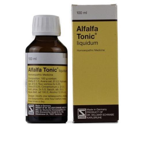 Schwabe German Alfalfa Tonic for Fatigue, Loss of appetite, Nervousness. Health Recovery