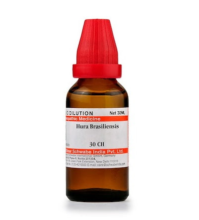 Hura Brasiliensis Homeopathy Dilution 6C, 30C, 200C, 1M, 10M, CM
