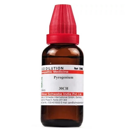 Pyrogenium Homeopathy Dilution 6C, 30C, 200C, 1M, 10M