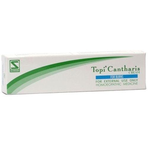 Schwabe Topi Cantharis Cream for Skin Burns, Sun Burn Pack of 3