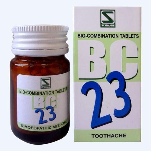Schwabe BioCombination BC23 Tablets for Toothache, Dental Pain