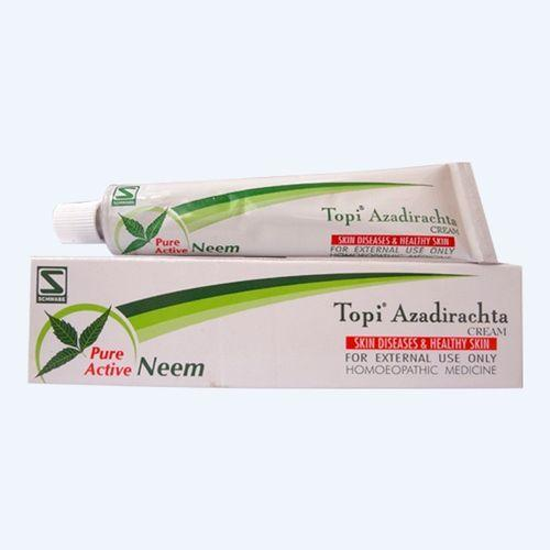 Schwabe Topi Azadirachta Cream for Skin Diseases (Boils, Ulcers, Eczema, Itching, Scabies) Pack of 3
