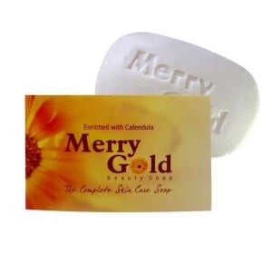 St George White Merry Gold Beauty soap - Complete Skin Care Soap-Pack of 3