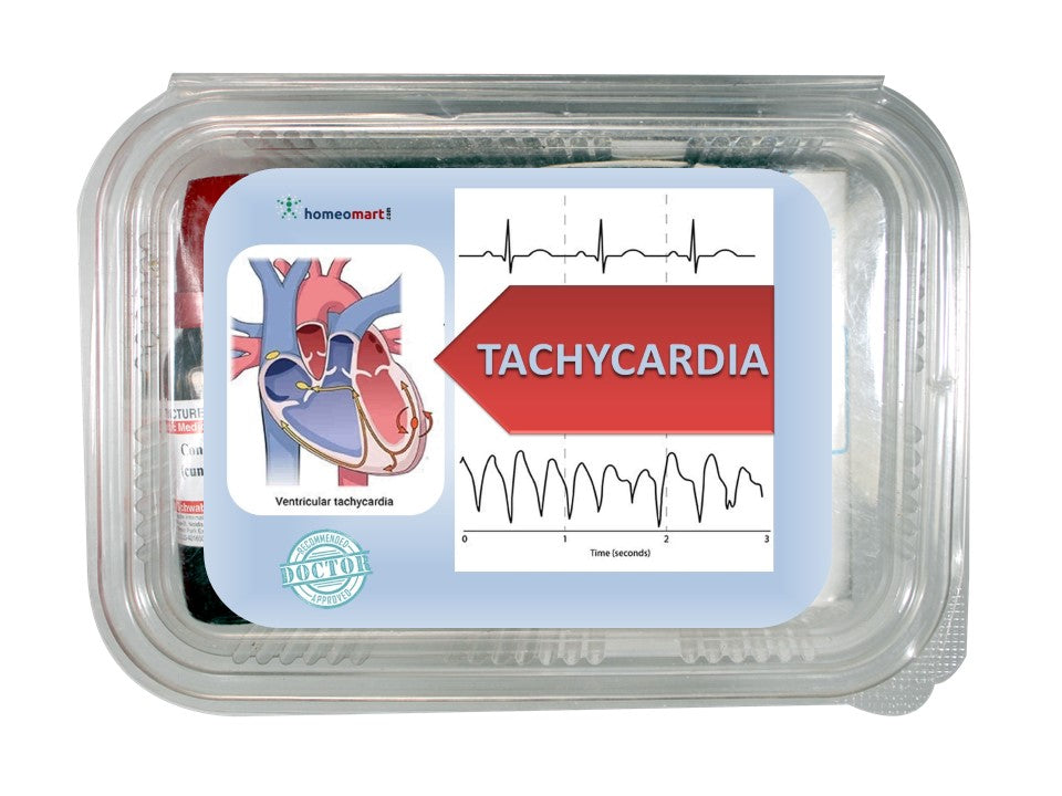 homeopathy medicine kit for tachycardia and heart palpitations