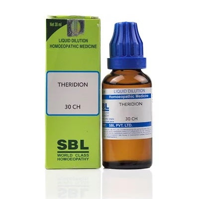Theridion Homeopathy Dilution 6C, 30C, 200C, 1M, 10M