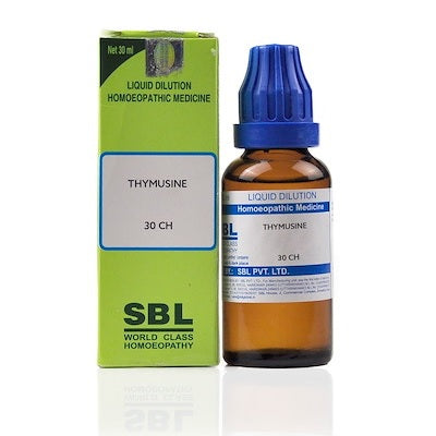Thymusine Homeopathy Dilution 6C, 30C, 200C, 1M, 10M