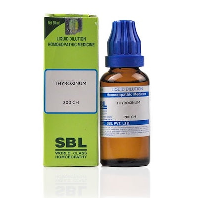 Thyroxinum Homeopathy Dilution 6C, 30C, 200C, 1M, 10M