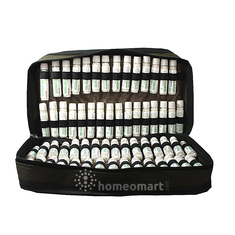 Pregnancy care Medicine Kit with medicine bottles in a carry case
