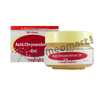 Vashisht Acid Chrysarobinum 3X Gel for Eczema & Fungal Infections