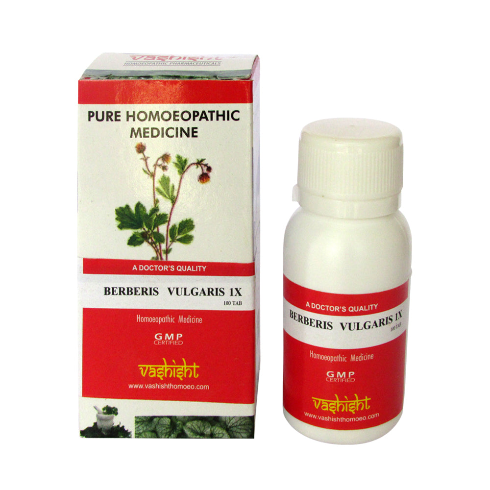 Vashisht Berberis Vulgaris 1x Mother Tincture Tablets