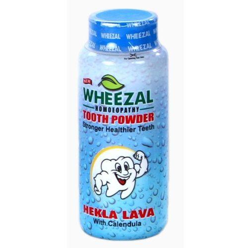 Wheezal Hekla Lava Tooth Powder-PACK OF 3