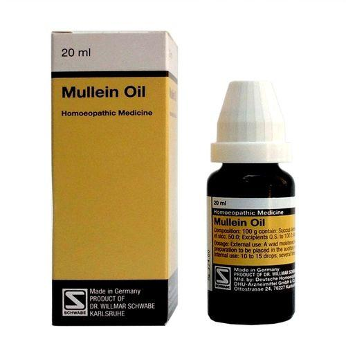 Schwabe German Mullein Oil for Earaches, Tinnitus, Loss of Hearing
