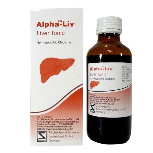 Schwabe Alpha Liv syrup for Fatty Liver, Slow liver functions