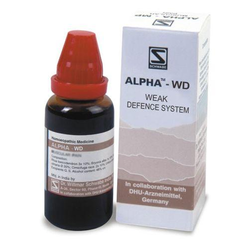 Schwabe Alpha WD for body resistance power (Immune stimulation)