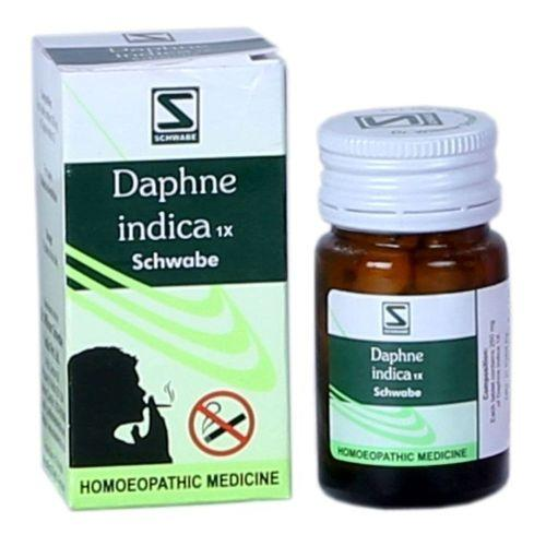 Schwabe Daphne Indica 1X tablets for Tobacco de-addiction, Quit smoking