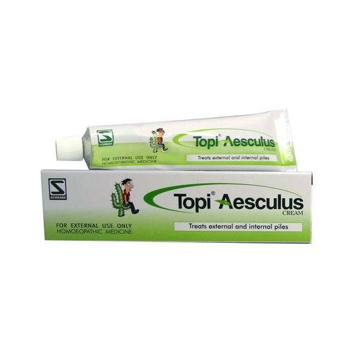 Schwabe Topi Aesculus cream for Piles, Pain in rectum, Sore Anus. Pack of 3