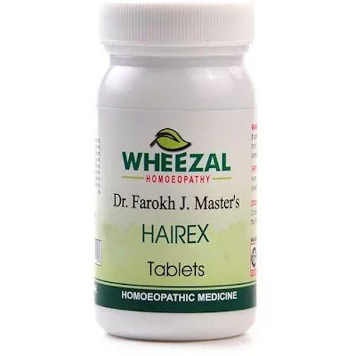 Wheezal Hairex Tablets for Hair Fall, Dandruff, Hair Growth