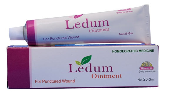 Wheezal Ledum Ointment for Punctured Wounds