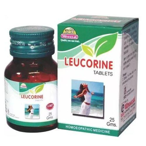 Wheezal Leucorine Tablets for white vaginal discharge (leucorrhoea)