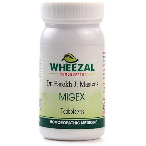 Wheezal Dr Farokh J M Migex Tablets for Migraine