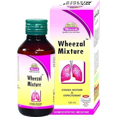 Wheezal Mixture Syrup for Wheezing, Cough