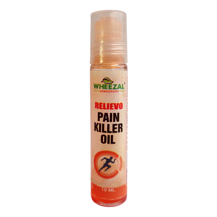 Wheezal Relievo Pain Killer Oil -  Roll On