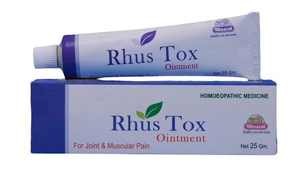 Wheezal Rhus Tox Ointment for Joint & Muscular pain