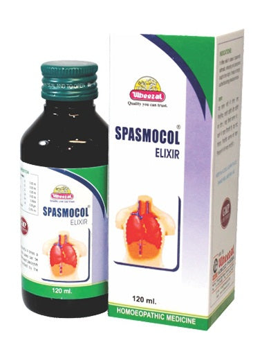 Wheezal Spasmocol Liquid for Whooping and Asthmatic Cough