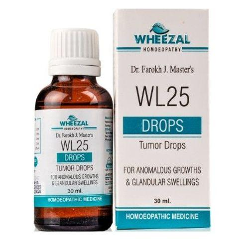 Wheezal WL-25 Tumor Drops for Anomalous Growths And Glandular Swelling