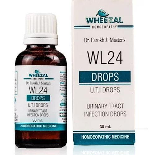 Wheezal WL24 Urinary Tract Infections (UTI) Drops