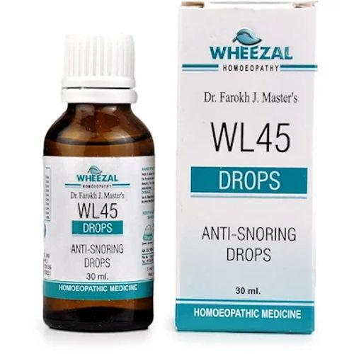 Wheezal WL45 Anti Snoring Drops