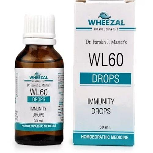 Wheezal WL60 Immunity Drops - Increases the Body Immunity