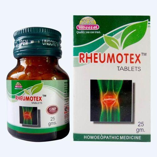Wheezal Rheumotex Tablets for Back Pain and Arthritis