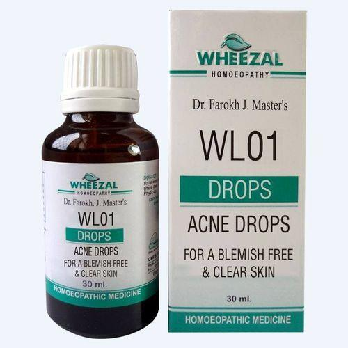 Wheezal WL 1 Acne Drops for Blemish Free and Clear Skin